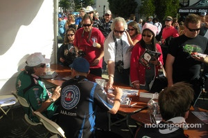 John Force Holiday car show
