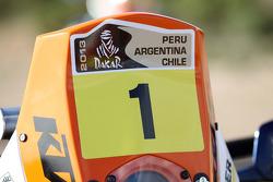 #1 KTM: Cyril Despres