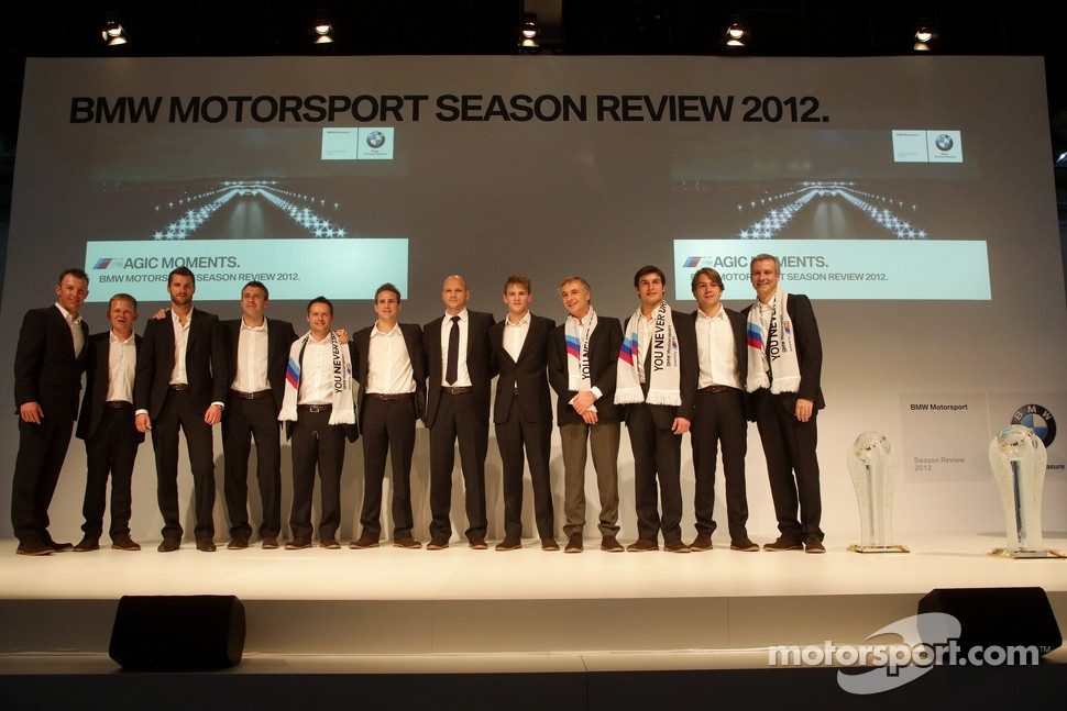 The announced 2013 BMW DTM drivers including Marco Wittmann