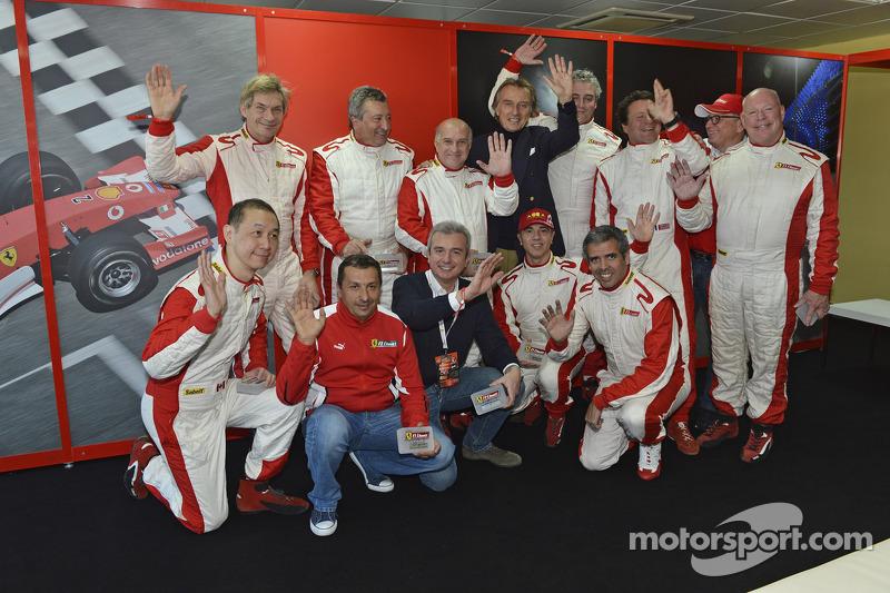 Luca di Montezemolo with F1 Clienti