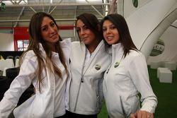 Lovely stand girls