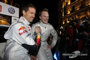 Jari-Matti Latvala and Sébastien Ogier