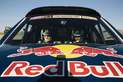Nasser Al-Attiyah and Lucas Cruz