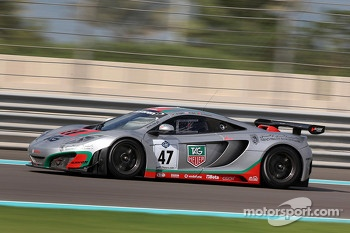 #47 ASM Team McLaren MP4-12C: Alvaro Parente, Rob Bell, Karim Ojjeh