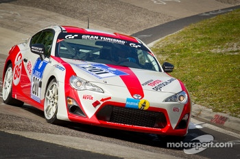 #201 Toyota Swiss Racing Toyota GT86: Peter Wyss, Lorenz Frey, Rolf Maritz, Klaus Vlker