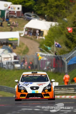 #130 Seat Leon Supercopa: Malcolm Niall, Clint Harvey, Brett Niall, Mark Pilatti