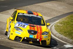 #139 Dörr Motorsport Seat Leon Supercopa: Friedrich Holoch, Christian Penno