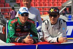 Benito Guerra and Jorge Lorenzo