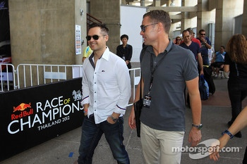 Andy Priaulx and Tom Kristensen