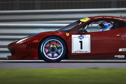#1 AF Corse Ferrari 458 Italia: Gaetano Ardagna, Gianmaria Bruni, Toni Vilander