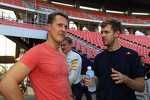 Michael Schumacher and Sebastian Vettel
