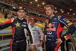 Jorge Lorenzo and Sebastian Vettel