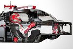 Audi R18 e-tron quattro cutaway