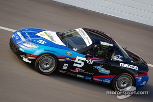 #5 CJ Wilson Racing Mazda MX-5: Stevan McAleer, Marc Miller
