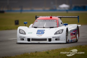 #5 Action Express Racing Corvette DP: Christian Fittipaldi, Felipe Nasr, Nelson A. Piquet