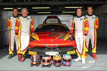 #88 Dragon Racing Ferrari 458 Italia GT3: Leon Price, Rob Barff, Jordan Grogor, Matt Griffin