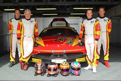 #88 Dragon Racing Ferrari 458 Italia GT3: Leon Price, Rob Barff, Jordan Grogor, Matt Griffin