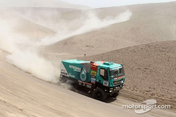 #507 Iveco: Miki Biasion, Humberto Fiori, Michel Huisman