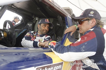 Nasser Al-Attiyah and Carlos Sainz