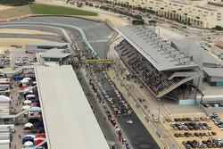 Pre-race grid