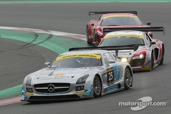 #25 Preci-Spark Mercedes SLS AMG GT3: David Jones, Geofrey Jones, Morgan Jones, Philip Jones, Gareth Jones