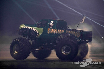 Monster Truck action in the live action arena