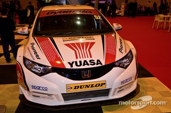 Honda BTCC car