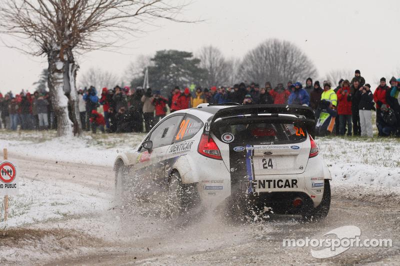Julien Maurin and Olivier Ural, Ford Fiesta WRC