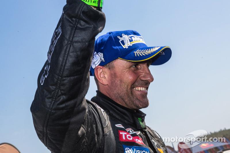 Car winner Stéphane Peterhansel