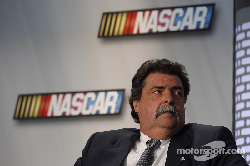 Michael Helton President of the NASCAR