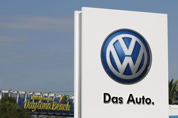 Volkswagen signage at Daytona