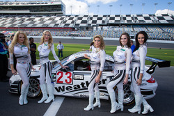 The charming WeatherTech girls