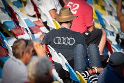 An Audi fan