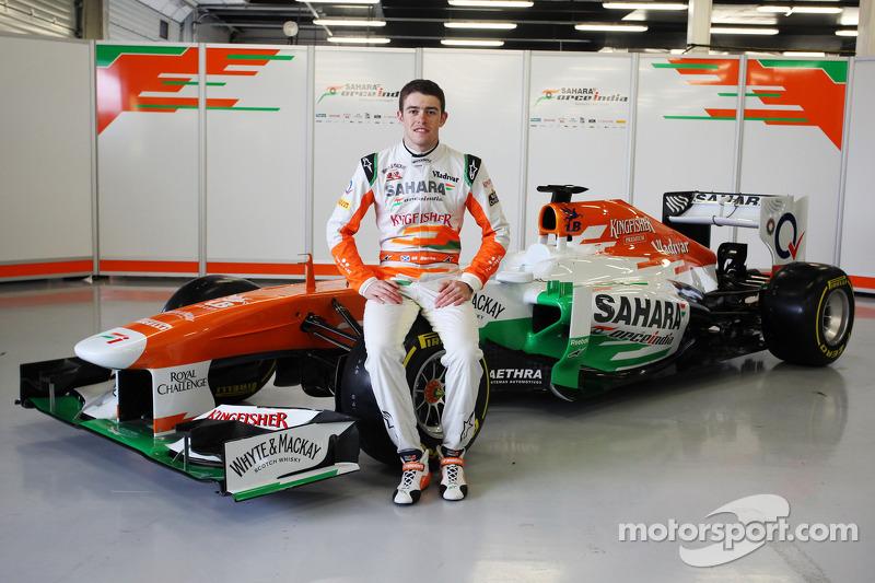 Paul di Resta, Sahara Force India F1 Team with the VJM06