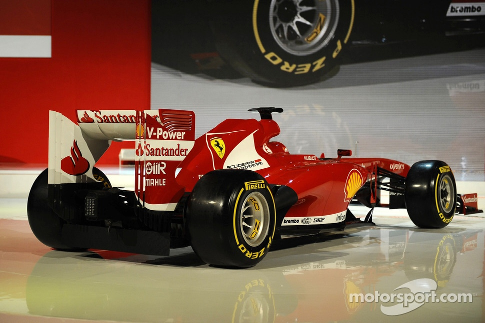 The 2013 Ferrari F138