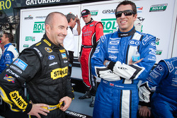 Marcos Ambrose and Justin Wilson