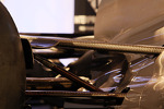 Sauber C32 rear suspension detail