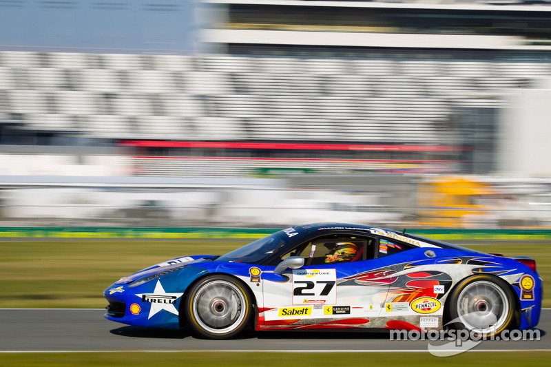 #27 Ferrari of Houston Ferrari 458: Mark McKenzie