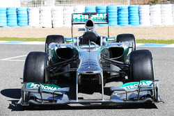 The new Mercedes AMG F1 W04