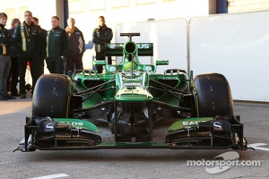 The new Caterham CT03 is unveiled