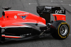 Marussia F1 Team MR02 rear suspension detail