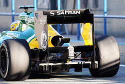 Charles Pic, Caterham CT03 rear diffuser