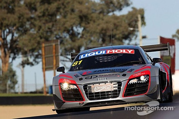 #81 DragonSpeed Audi R8 LMS Ultra: Christian Zugel, Elton Julian, Eric Lux