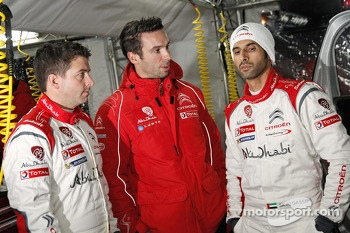 Khalid Al Qassimi and Scott Martin, Citron DS3 WRC, Citron Total Abu Dhabi World Rally Team