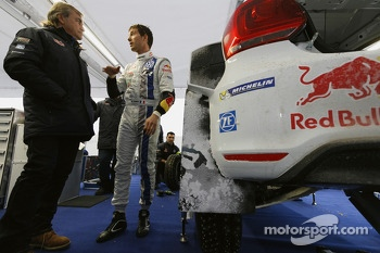 Sbastien Ogier and Carlos Sainz, Volkswagen Motorsport