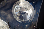 Portable camera in the headlight unit of the #6 Muscle Milk Pickett Racing HPD ARX-03c Honda