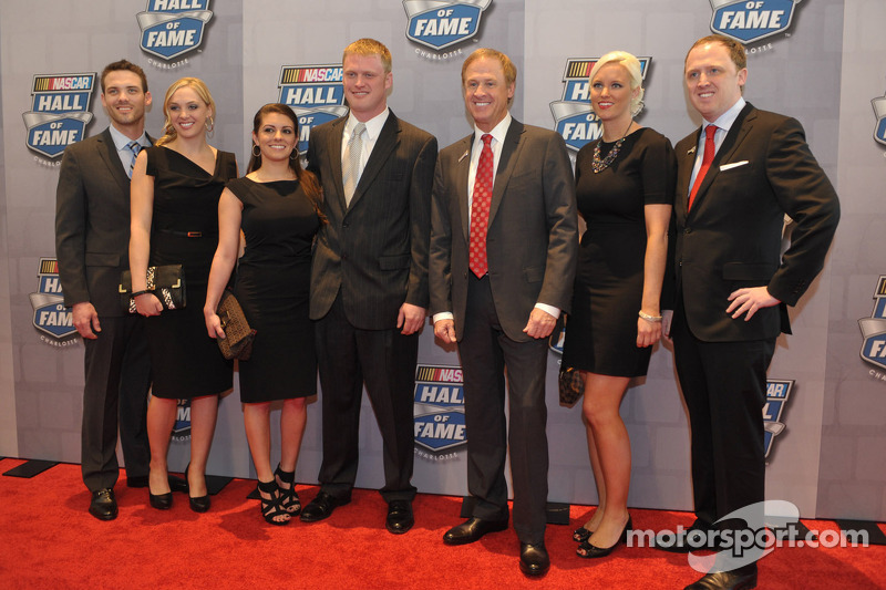Rusty Wallace and his family