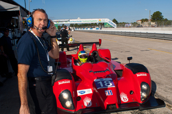 #18 Performance Tech Oreca FLM09: Charlie Shears, Tristan Nunez