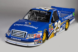 One of four Brad Keselowski Racing paint schemes for 2013