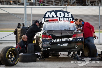 Damaged Furniture Row Racing Chevrolet of Kurt Busch
